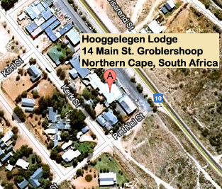 Hooggelegen Lodge - Groblershoop - Accommodation - Catering - Bar - Restaurant